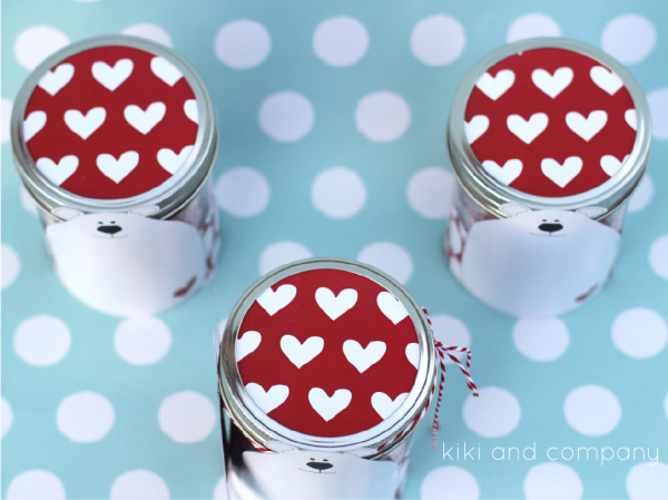 Polar Bear Jar and Tags. So fun!