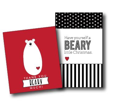Polar Bear Jar and Tags...super cute!