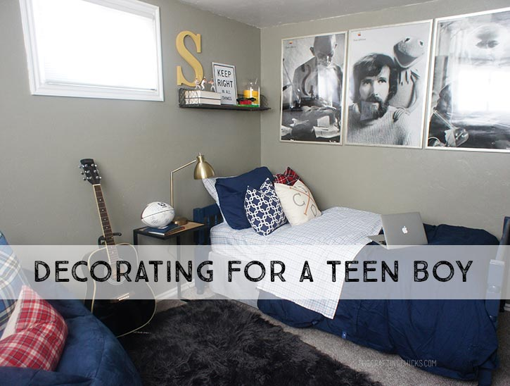 Decorating for a Teen Boy