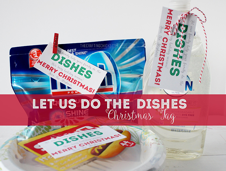 let us do the dishes gift tag