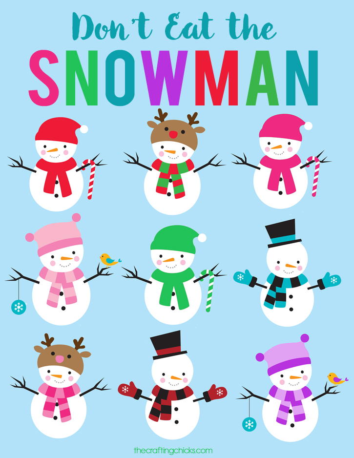 sm dont eat the snowman