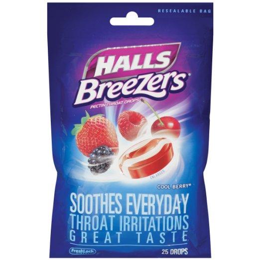 Halls Breezers