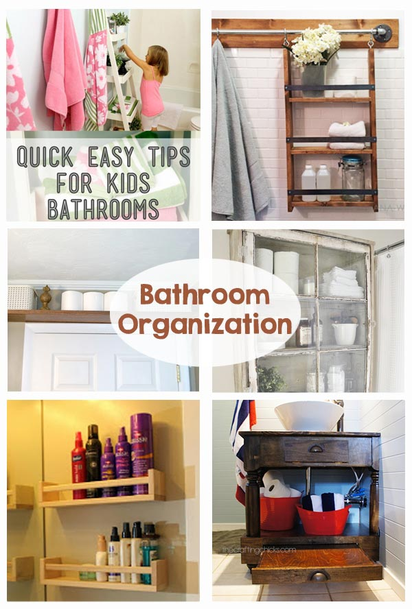 organized bathroom ideas bathroom organization the crafting 14462