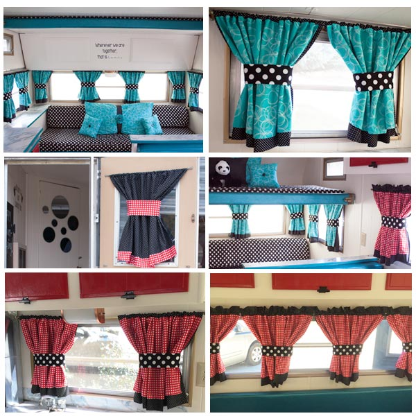 Camper Trailer How To Curtains