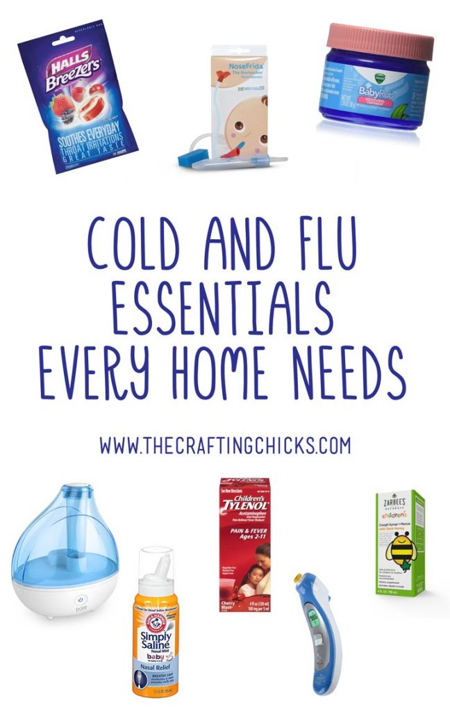 Cold and Flu Essentials Every Home Needs