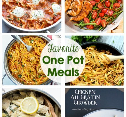 Favorite One Pot Meals