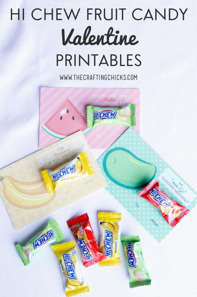 HI-Chew Fruit Candy Valentine Printables