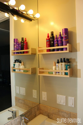 Bathroom Organization - Storage ideas, diy shelves, shower organization, medicine cabinets... love these ideas!