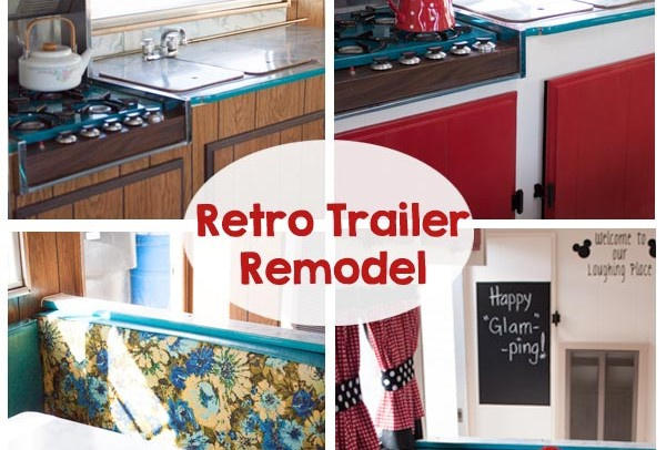 Retro Camping Trailer Remodel
