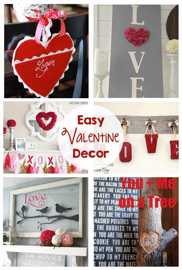 Easy Valentine Decor The Crafting Chicks
