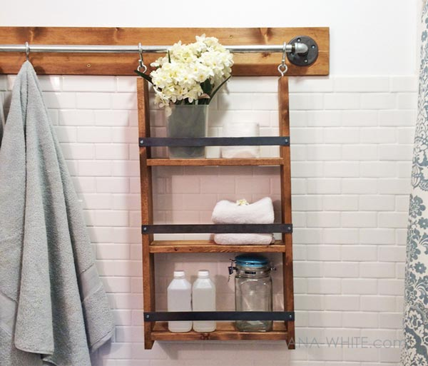 DIY Bathroom Wall System