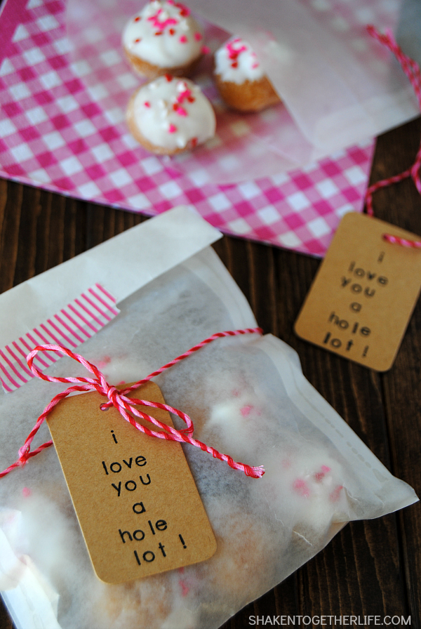 I Love You a Hole Lot - Donut Hole Gifts at Shaken Together