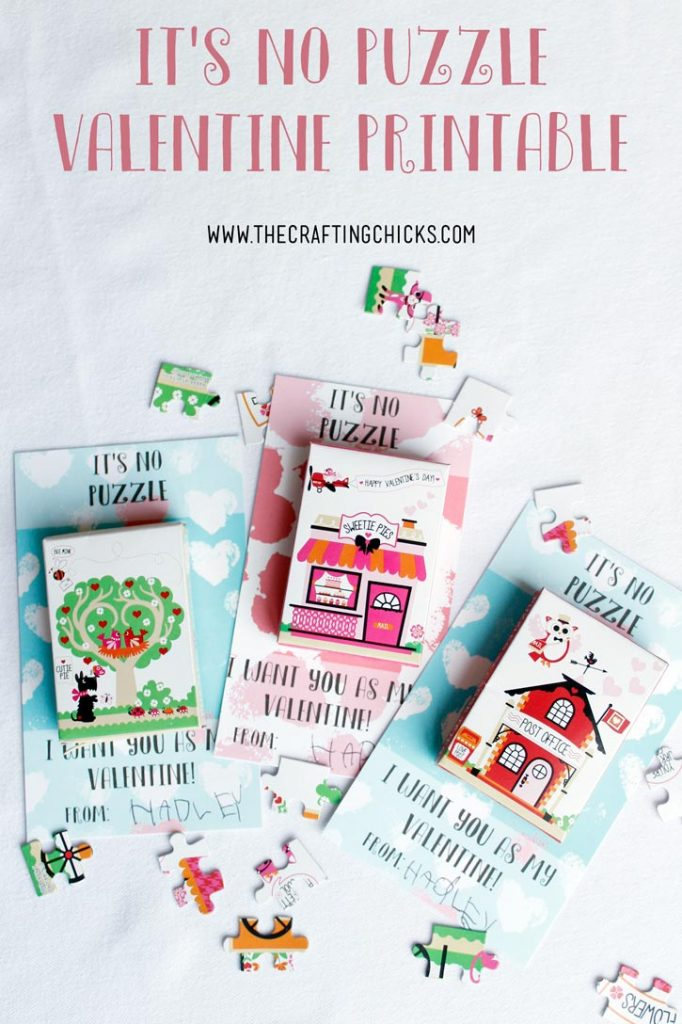 It's No Puzzle Valentines Printables