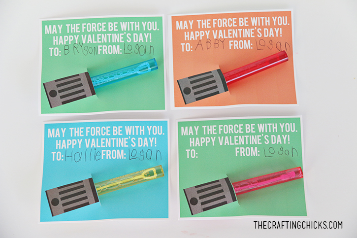 Ridiculous image with regard to lightsaber valentine printable