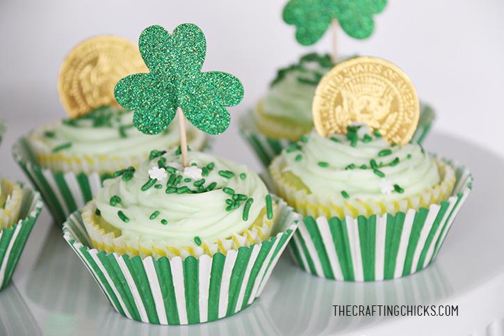 sm st patricks cupcakes 2