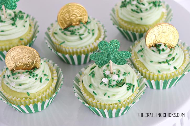 sm st patricks cupcakes 4