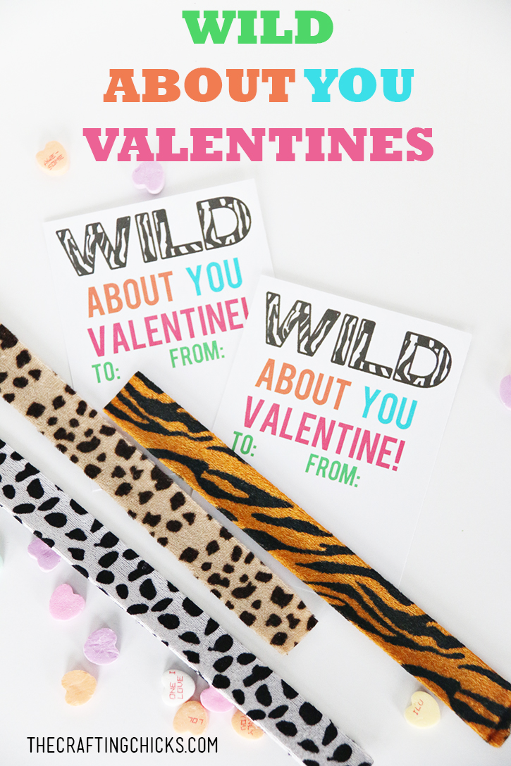 I'm Wild About You Slap Bracelet Valentines