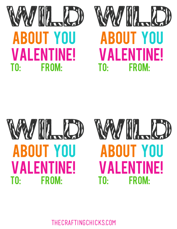 sm wild about you valentine