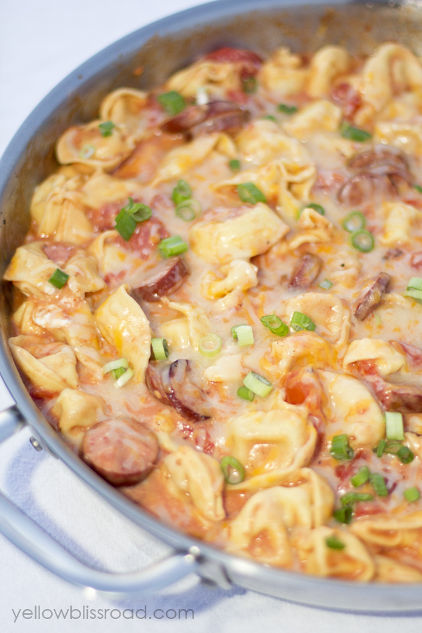 Tortellini and Sausage