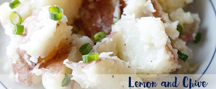 Lemon and Chive New Potatoes