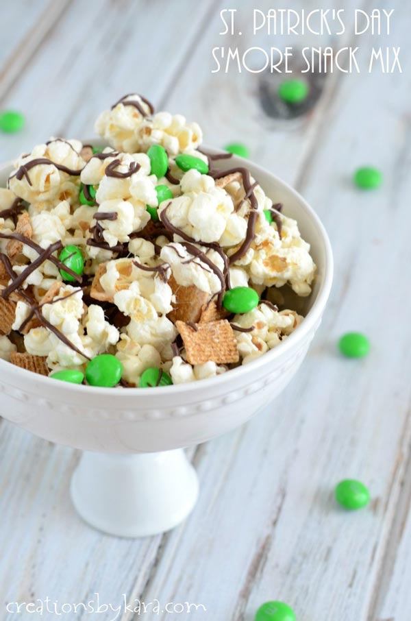 St Patrick's Day S'more Snack