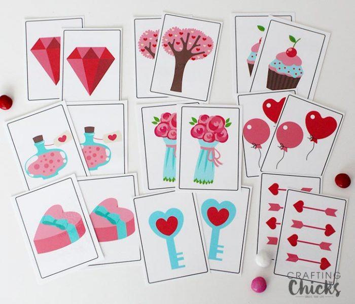 Valentine-memory-game