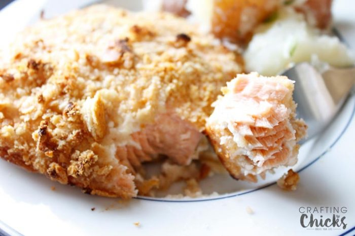Crispy Salmon Bake Recipe