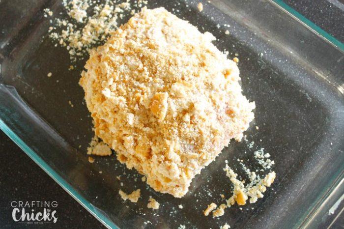 Crispy Salmon Bake