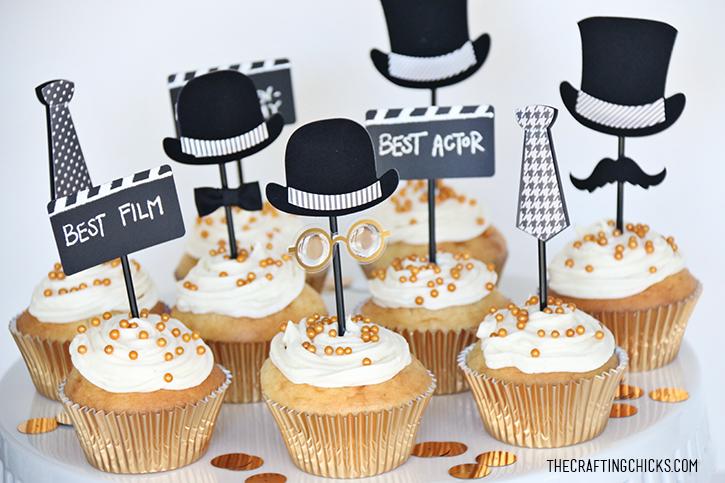 Oscar Winning Cupcakes The Crafting Chicks