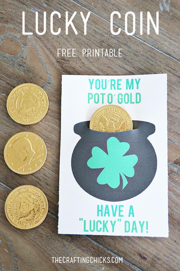 Lucky Coin printable