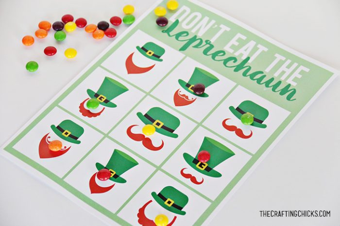 St. Patrick's Day Printable Pack Don't Eat the Leprechaun