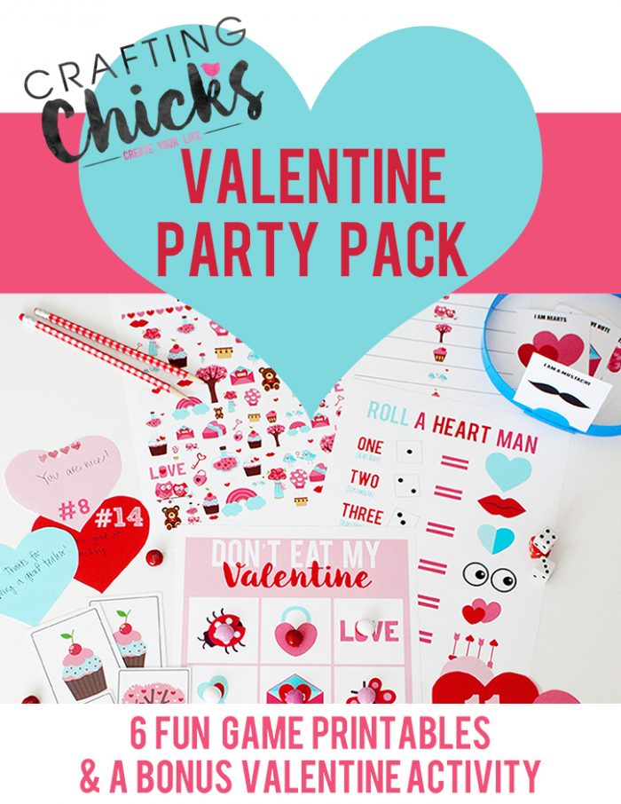 Valentine Party Pack - The Crafting Chicks
