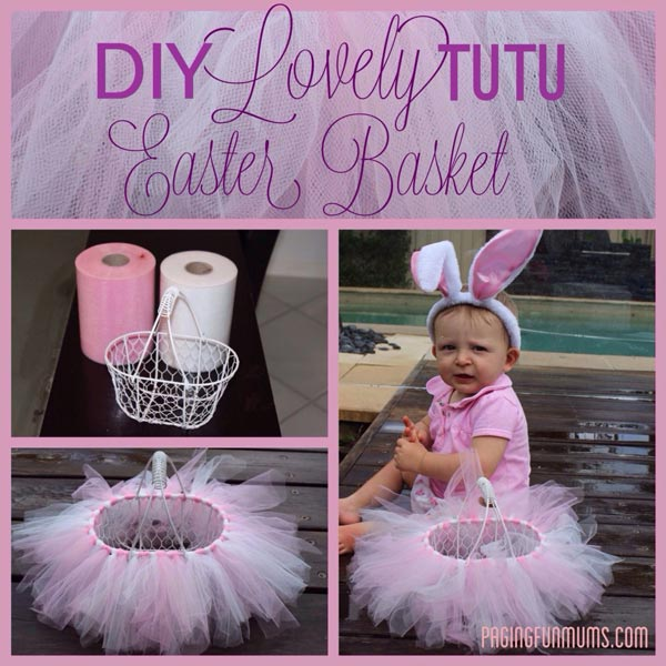 Tutu Easter Baskets