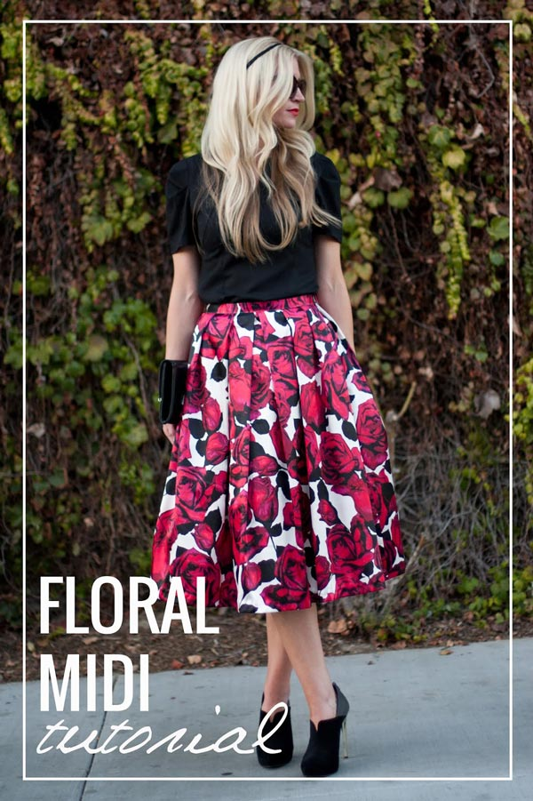 Midi Skirt Tutorial
