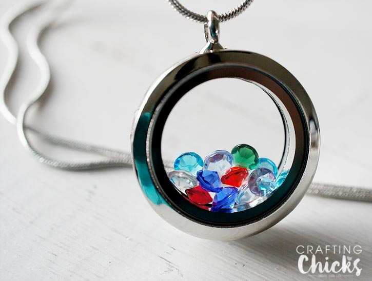Birthstone Locket Mother's Day Gift Idea