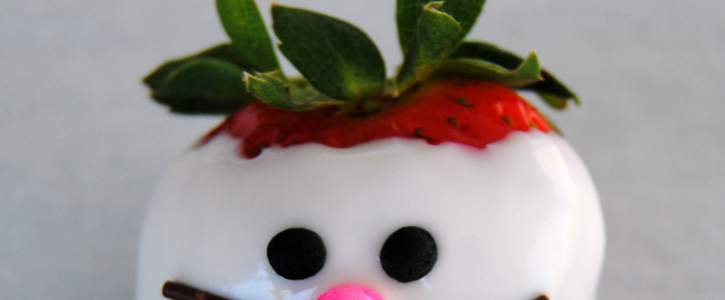 Bunny Face Strawberries