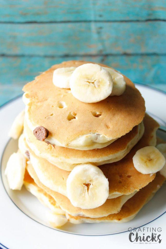 choc-chip-banana-pancakes