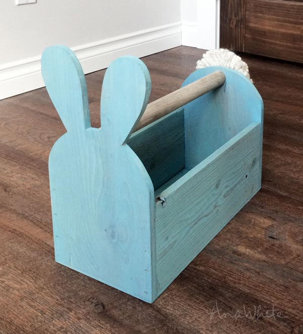 DIY Wooden Easter Basket