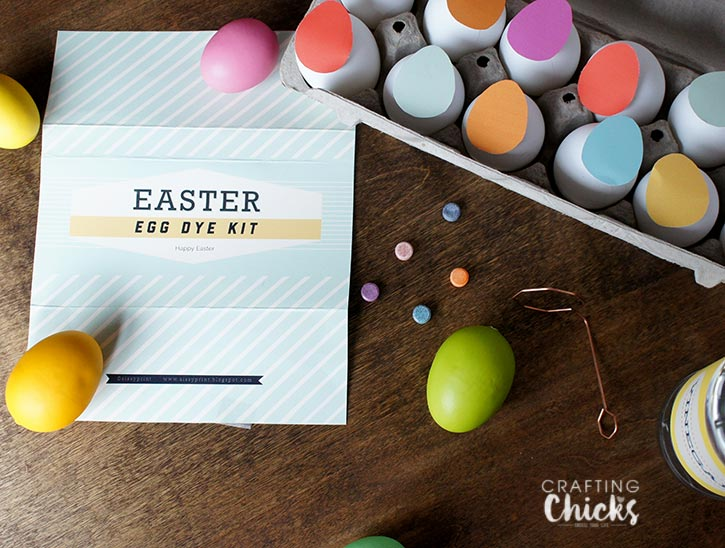 Easter Egg Dye Kit free printables