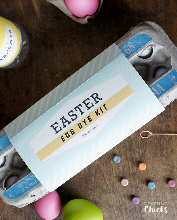 Easter Gift Idea free printables