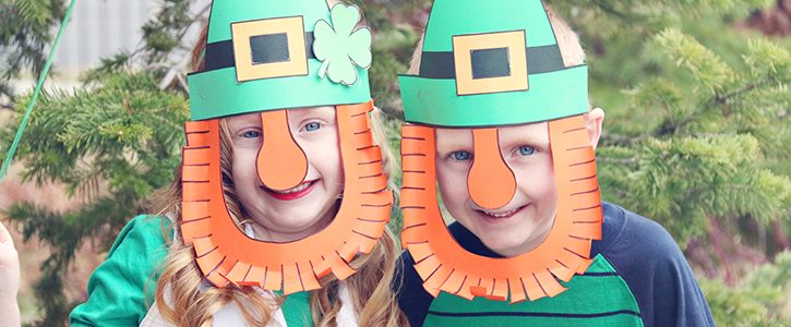 Leprechaun Mask Printable