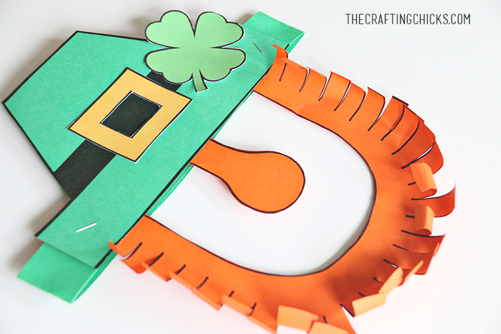 Leprechaun Mask Printable The Crafting Chicks