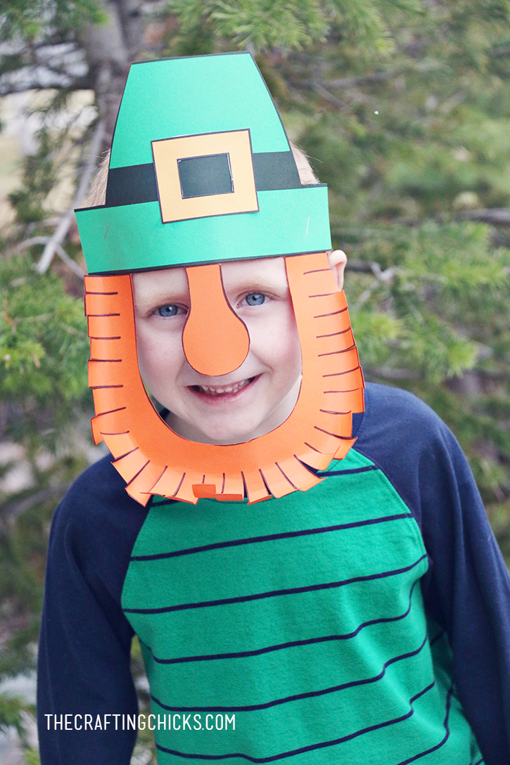 sm leprechaun mask logan