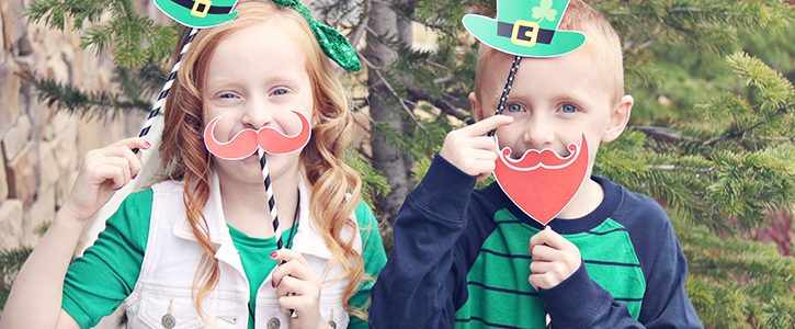 Leprechaun Photo Props