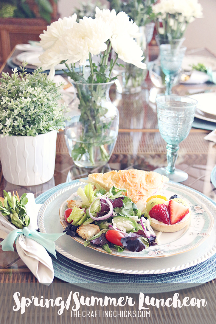 A Spring or Summer Luncheon with Kneaders