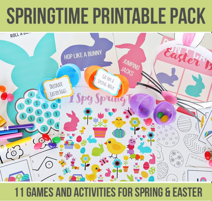Springtime and Easter Printable Pack