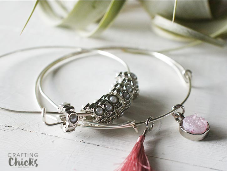 stackable wire bangles