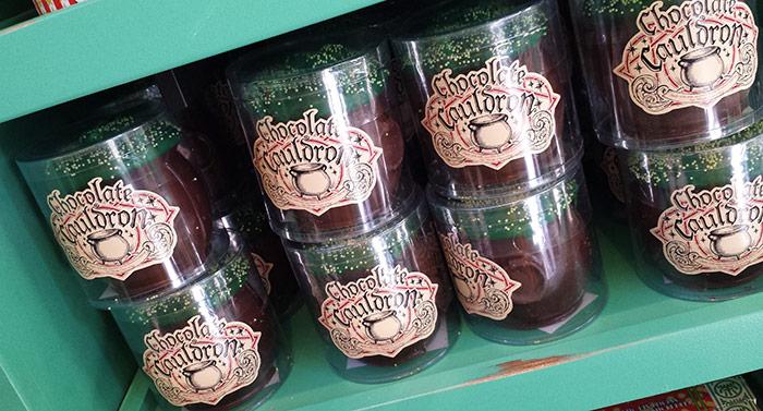 Harry Potter Chocolate Cauldrons