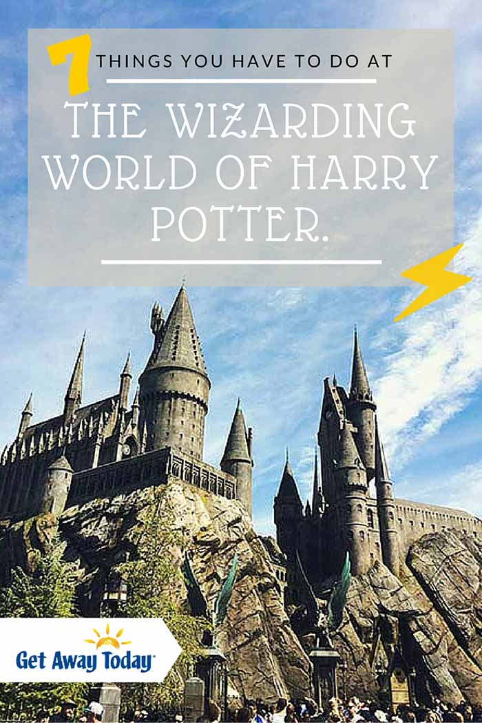 7 Things You Have To Do at the WIzarding World of Harry Potter in CA