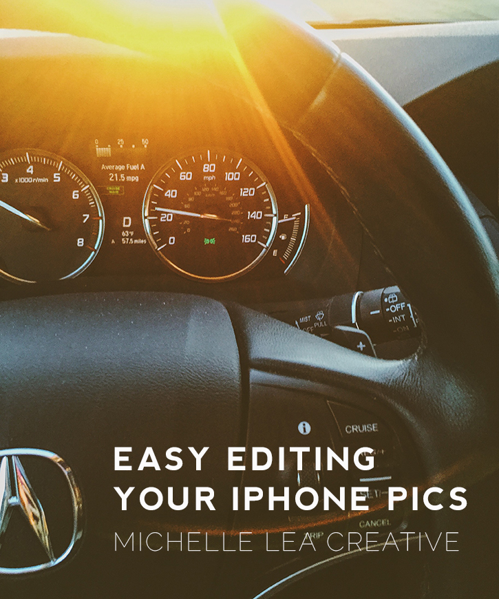 How to edit your iPhone photos